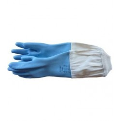 GANTS LATEX PLASTIFIE