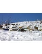 Isolation  : accessoires de ruches vers la Drôme